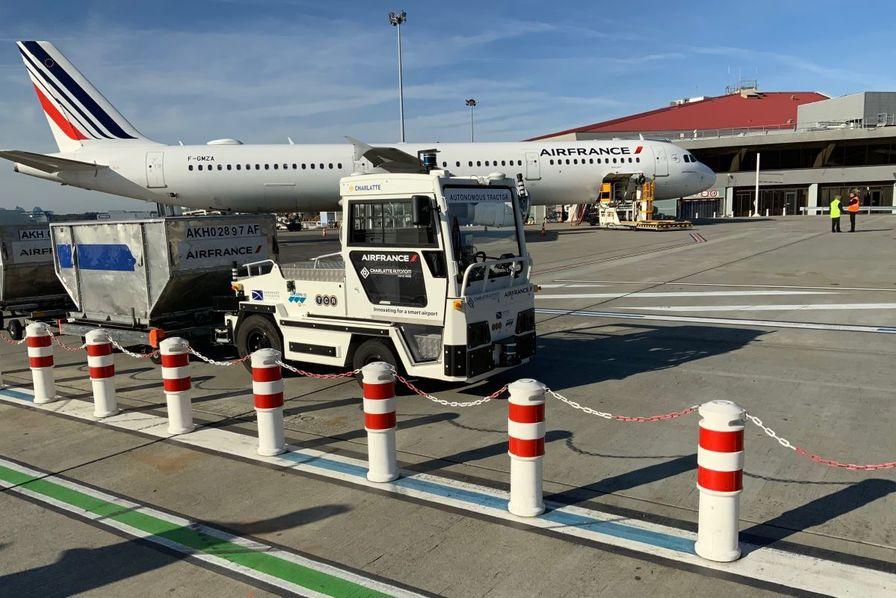 [Vidéo] L'aéroport de Toulouse se dote d'un tracteur à bagages autonome