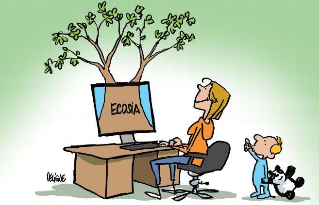 Comment planter des arbres en restant derrière un écran à surfer sur internet ?